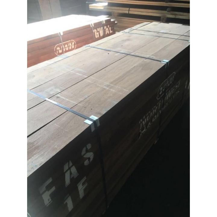 Обрезная доска Американский орех 52х300