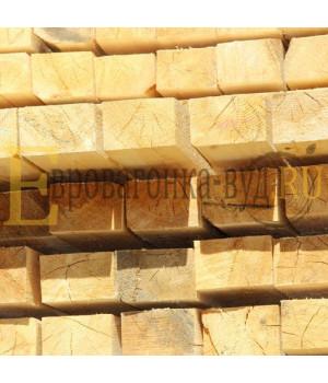 Обрезной брус лиственница 100х100