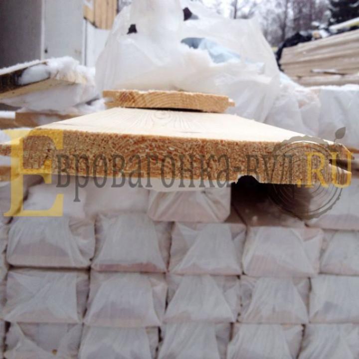 Имитация бруса лиственница 20х145 сорт Прима