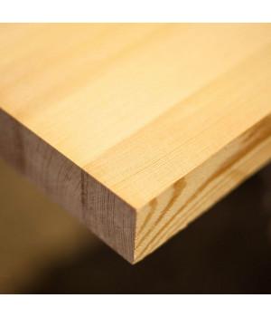 Мебельный щит лиственница 18 мм сорт Экстра