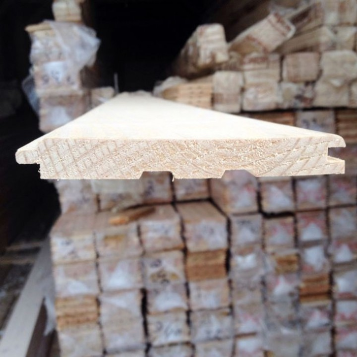 Вагонка лиственница 14х120 сорт АВ